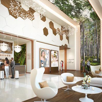 3d factory 3d factory monaco antalis hotel lobby 1