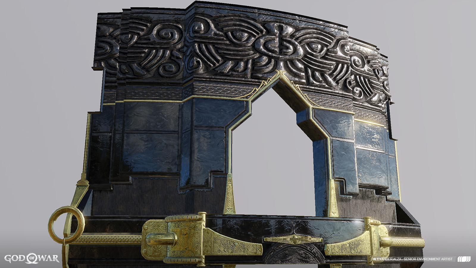 Temple facade 5 of 6