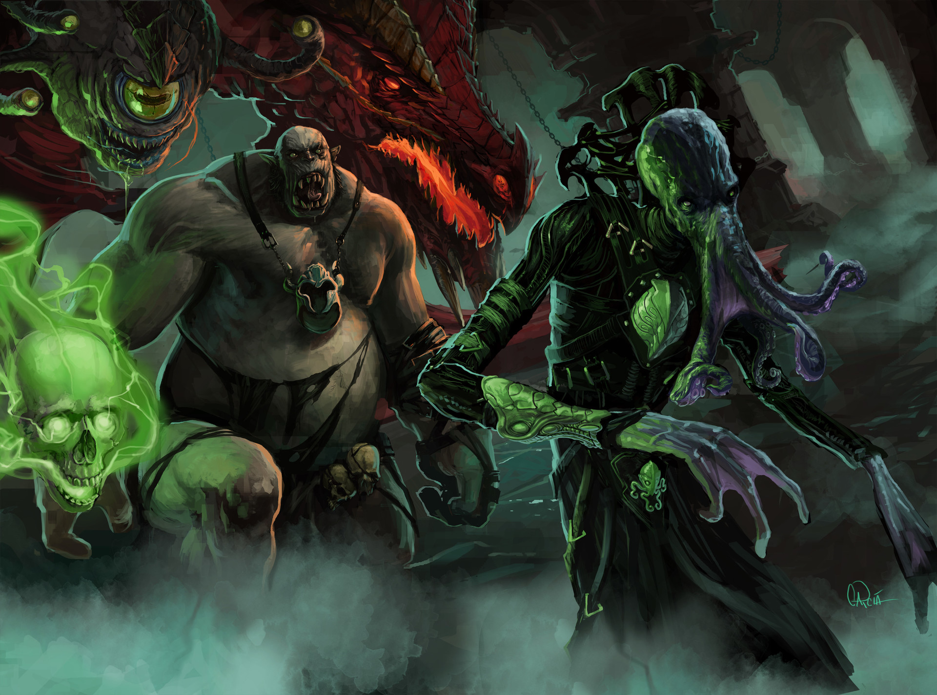 Chaim garcia chaim garcia dungeon master ii