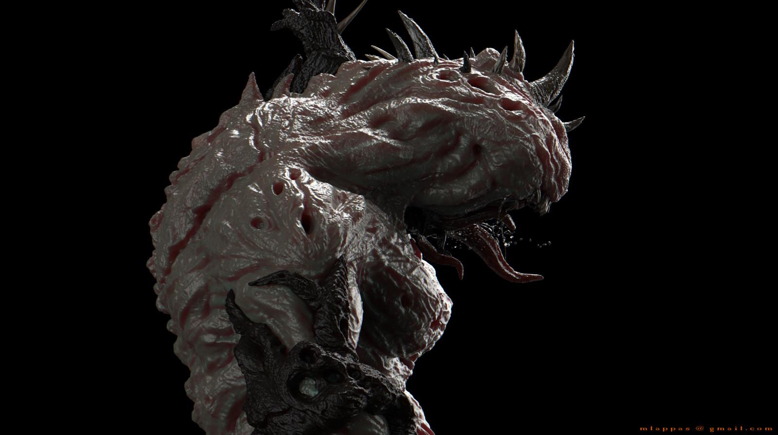 Creature 3D design