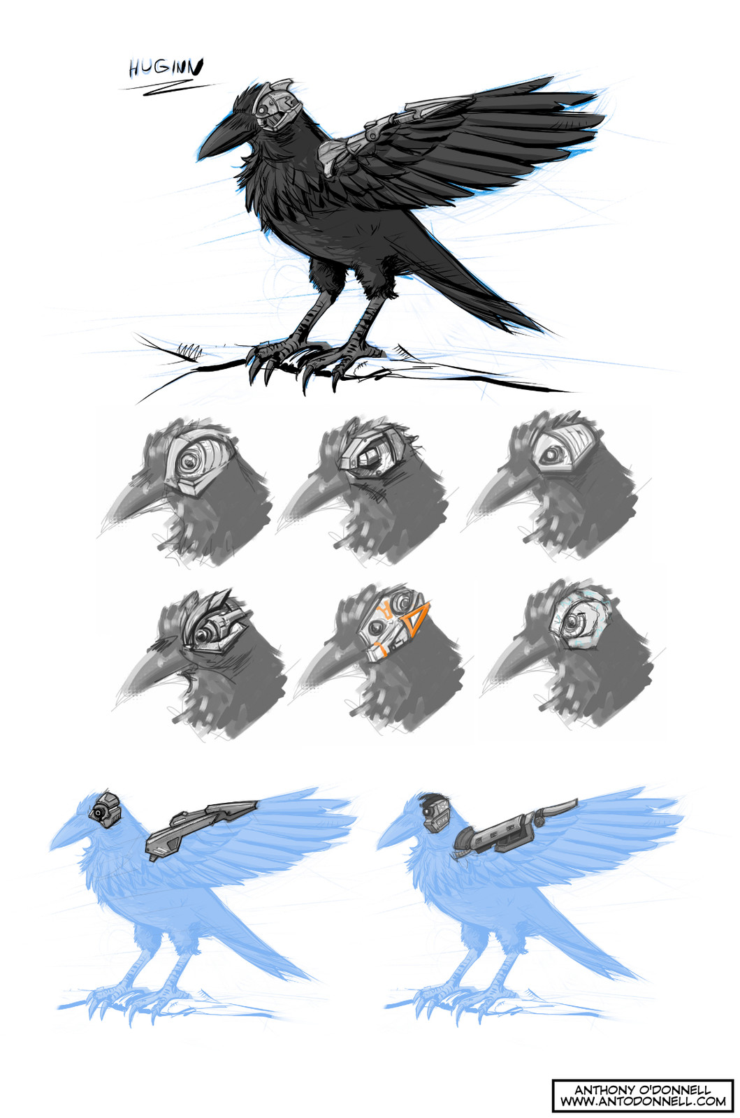 Nevermore - Design Sheet A