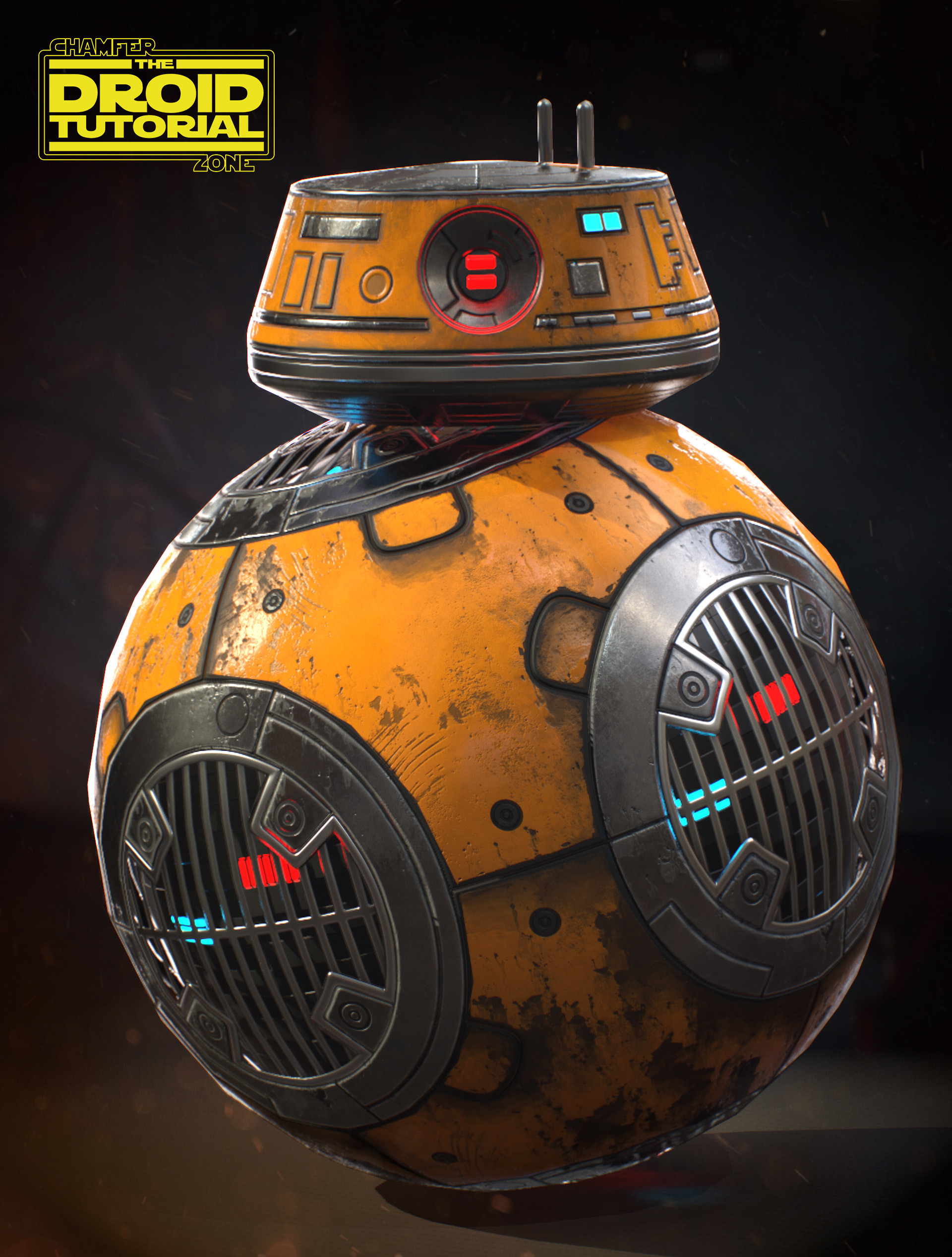 Tim bergholz chamferzone com droid yellow