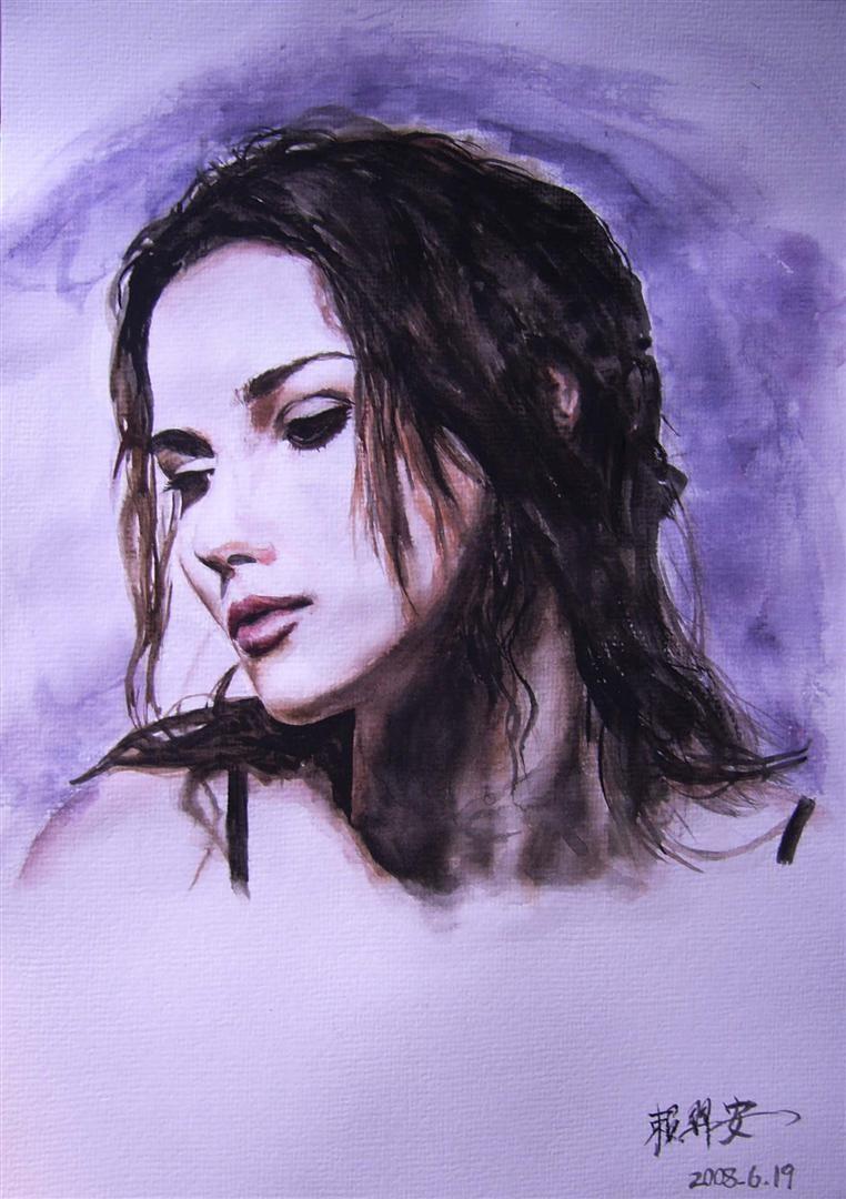 watercolor Portraiture