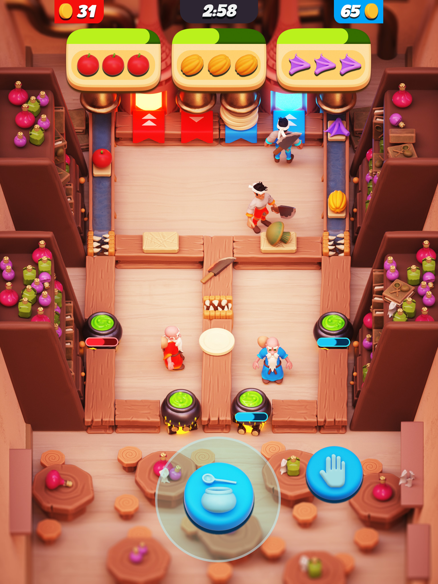 Art Direction - Fantasy Cooking Game