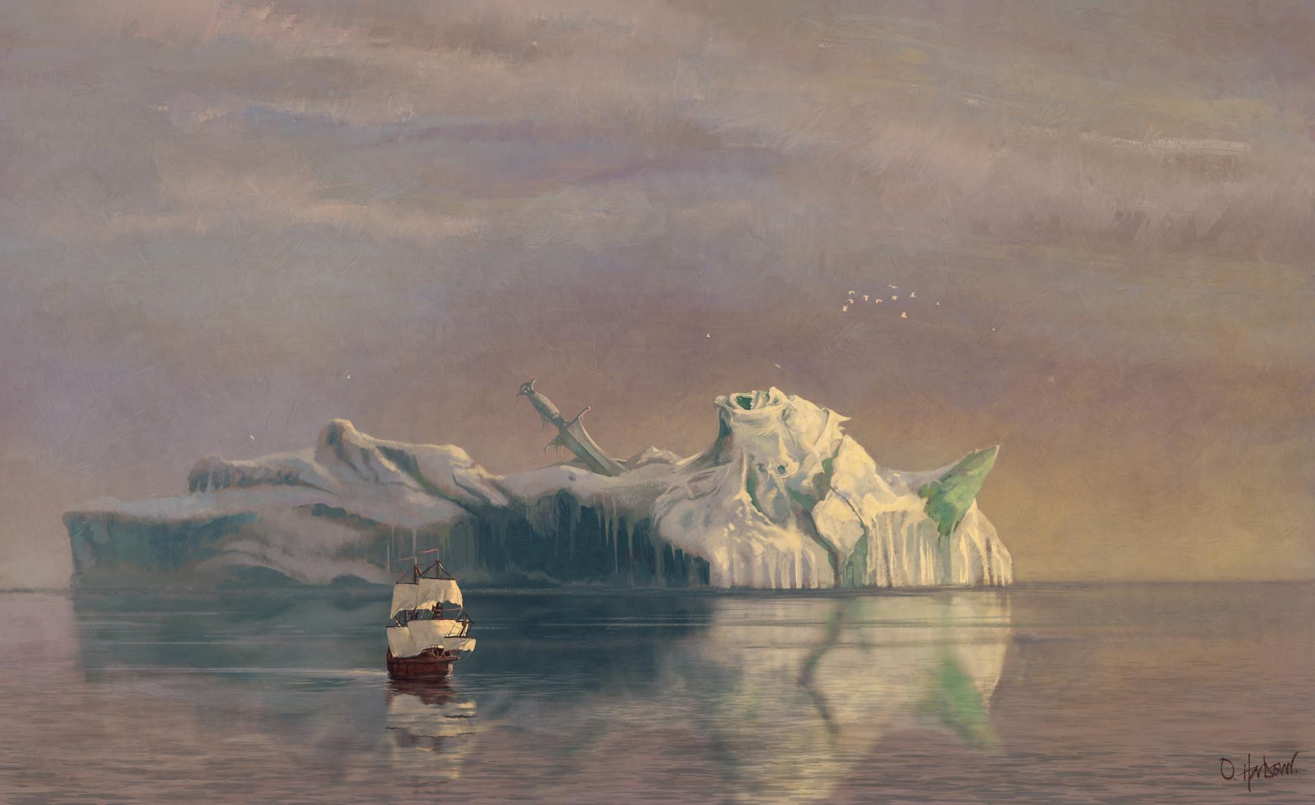 Oliver harbour iceberg study2