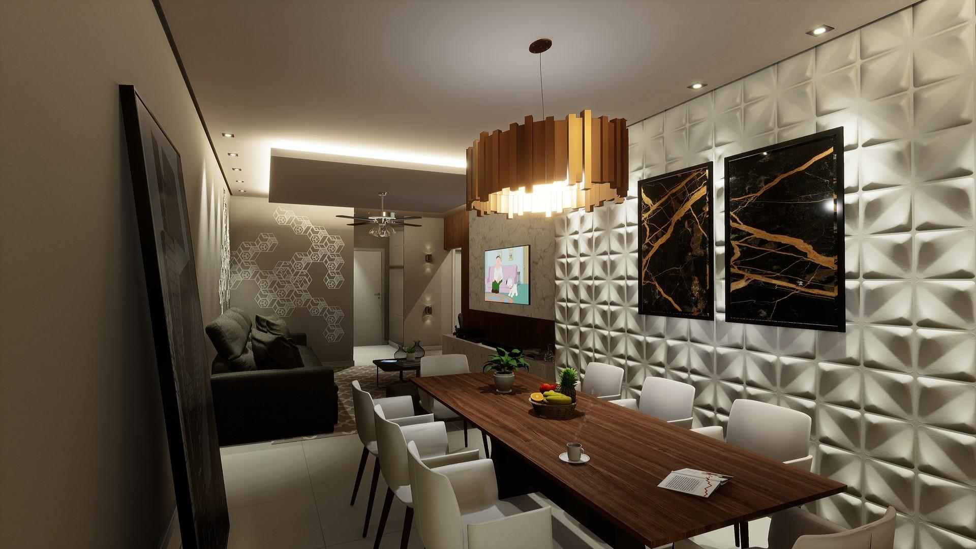 Fernando Damasceno - Unreal Engine 4 - Apartment Interior