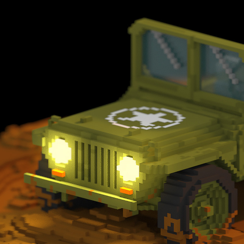 All them Voxel Vehicles!