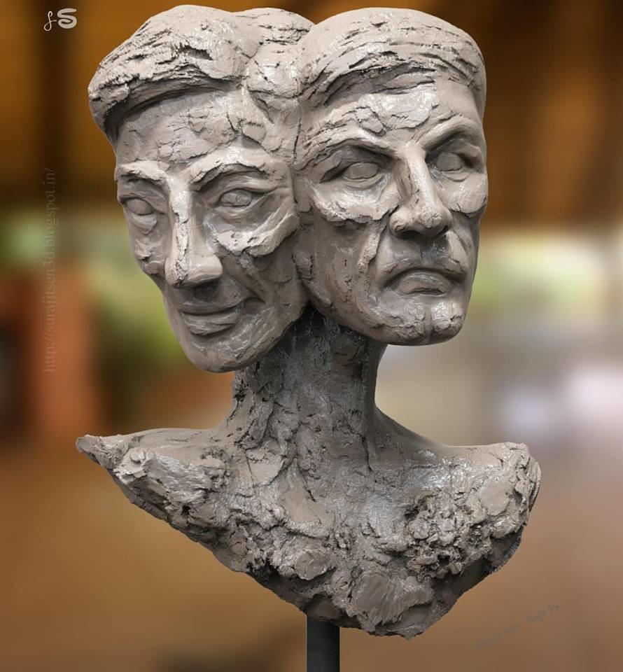Surajit sen dual entity concept sculpt surajitsen insta