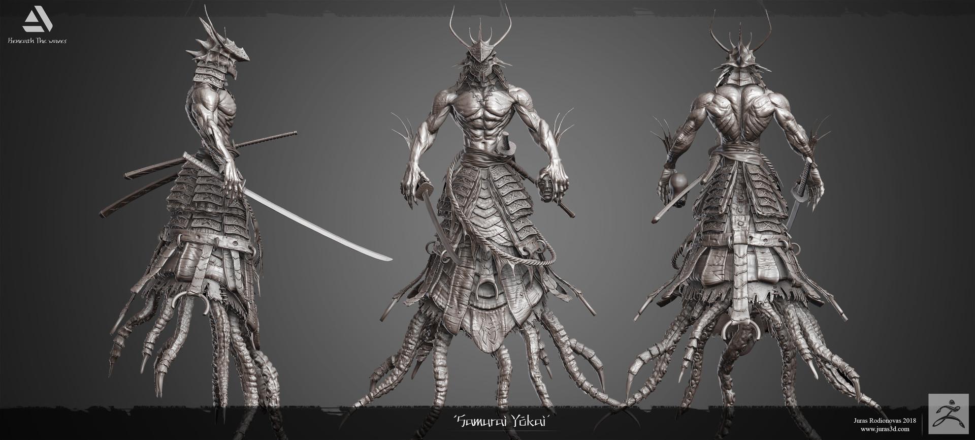 Juras rodionovas samurai yokai hp