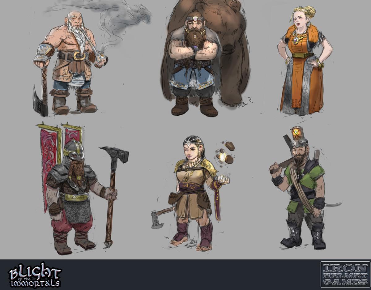Devin platts dwarf sketch1 wip01