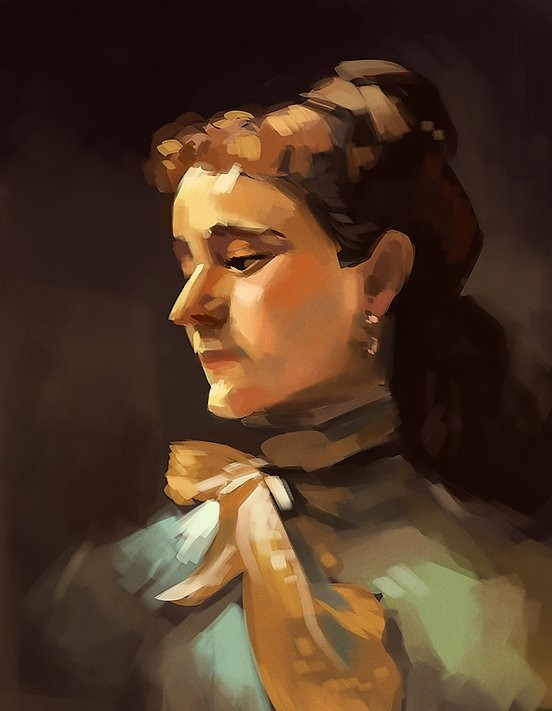 Study of a Sargent painting.