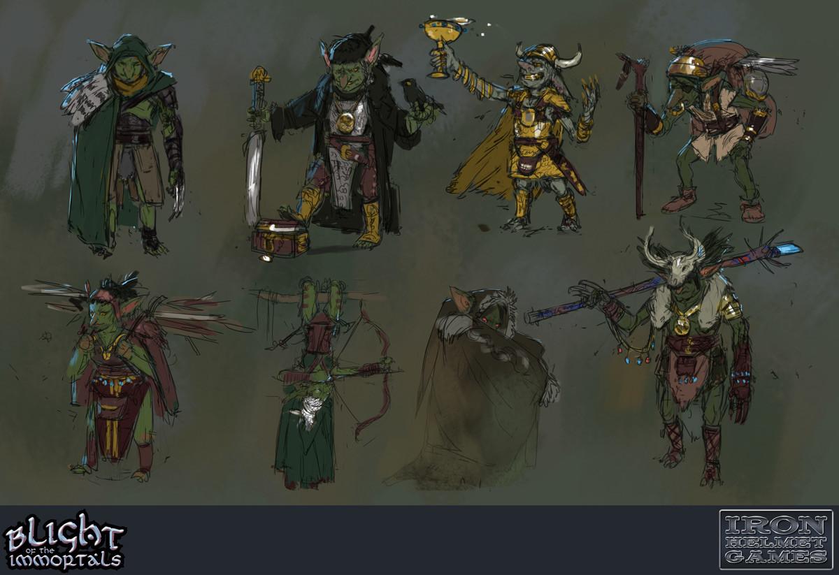 Goblins - Character Explorations