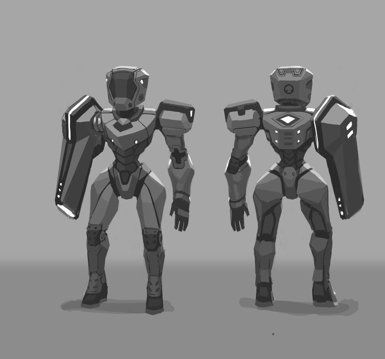 """""""Warp Ship"""" Character Concepts"""