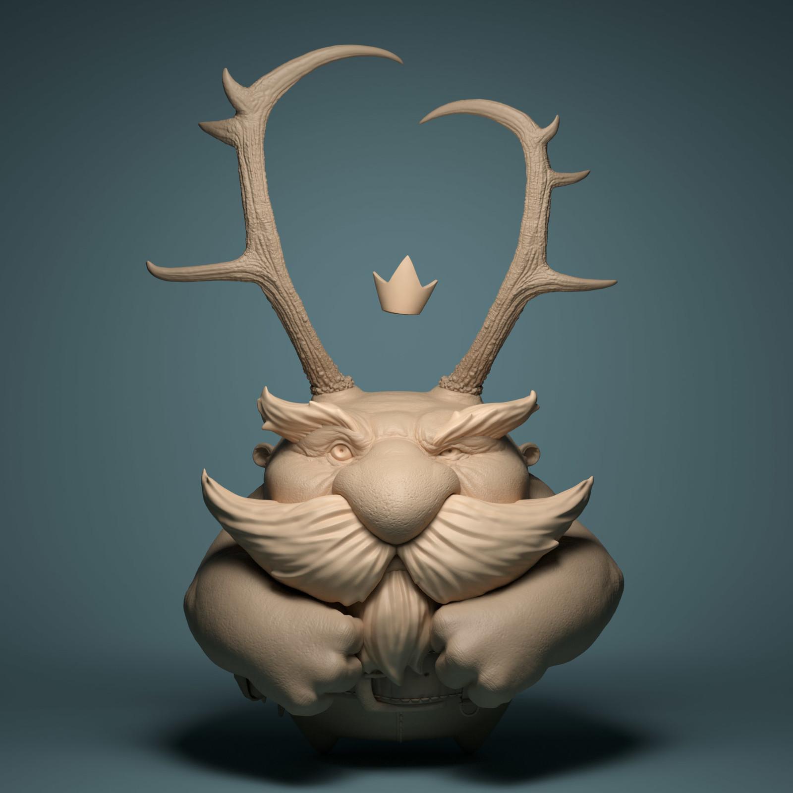 Mountain King sculpt