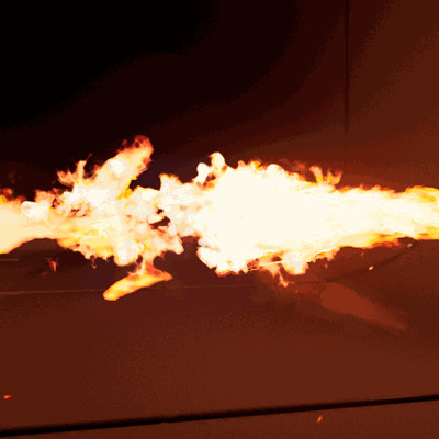 Marc d amico flamethrower