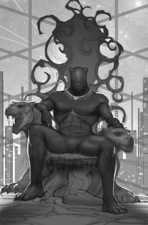 Inhyuk lee black panther