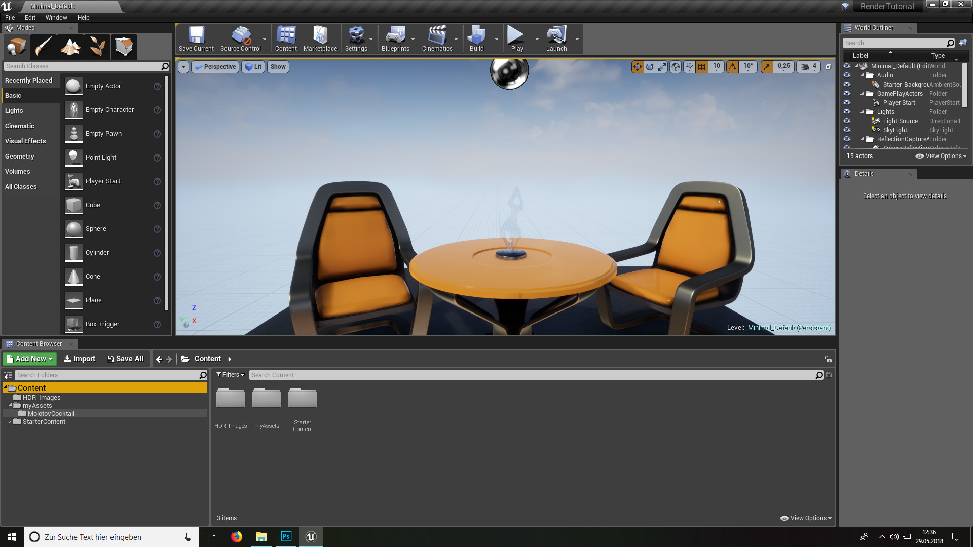 ArtStation - Rendering in Unreal Engine 4, Elvis Posa