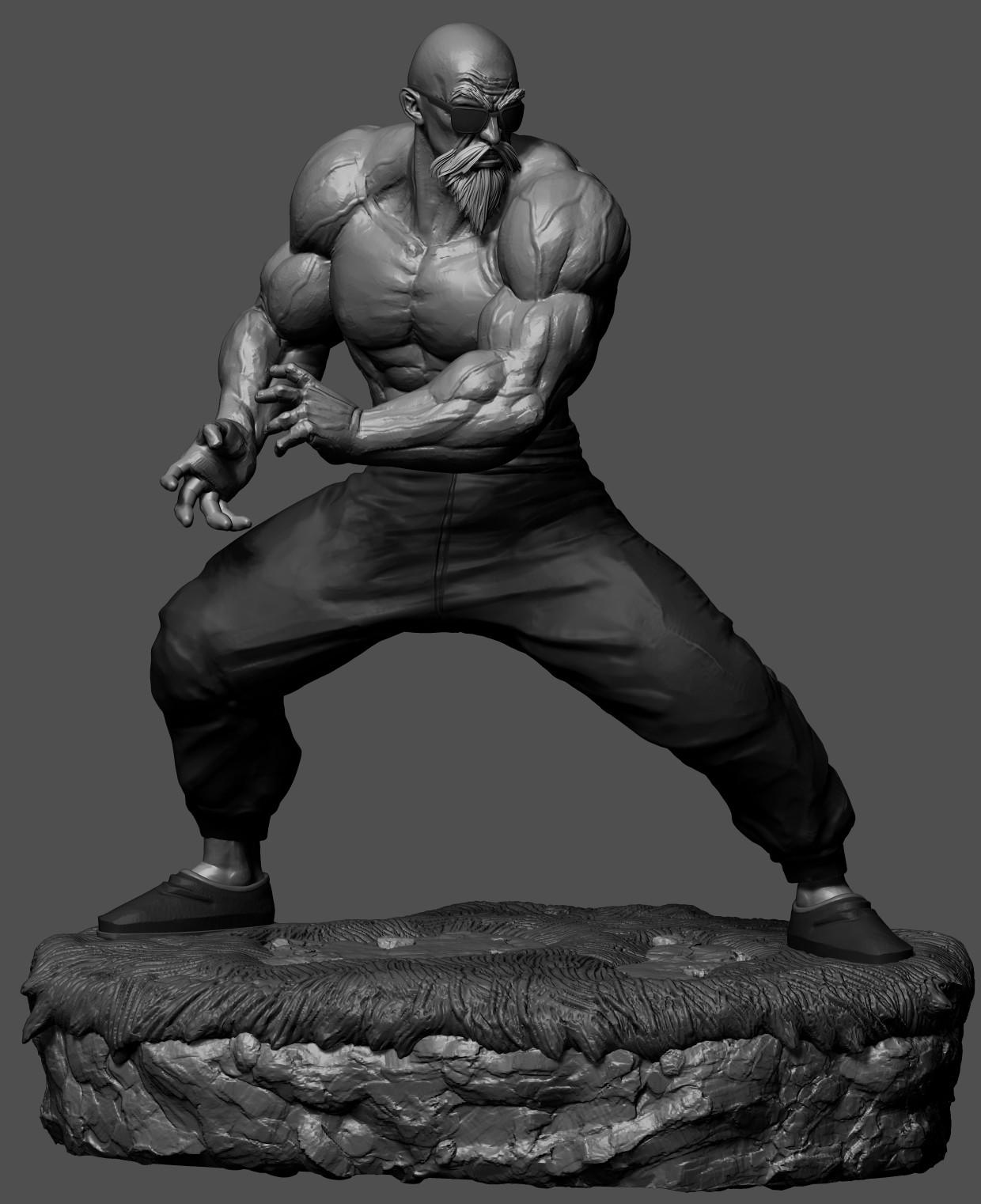 Master Roshi_Original Kamehameha