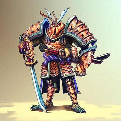 Guilherme freitas inseto samurai