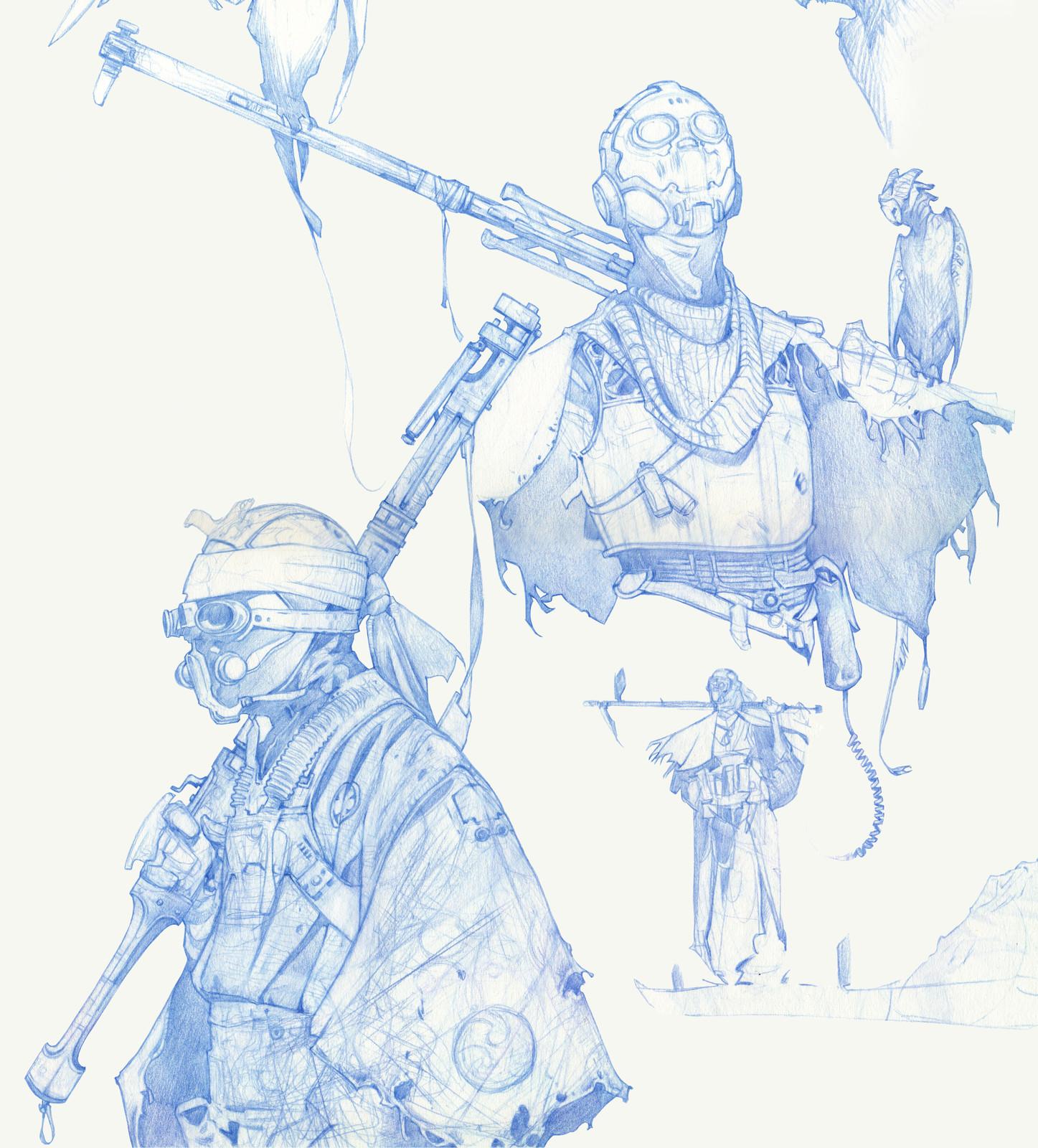 Sci-fi Samurai 1
