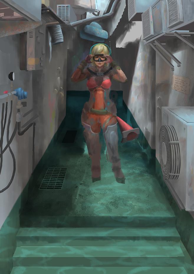 Tan kwang yang tanky deep illustration 03 wip 07