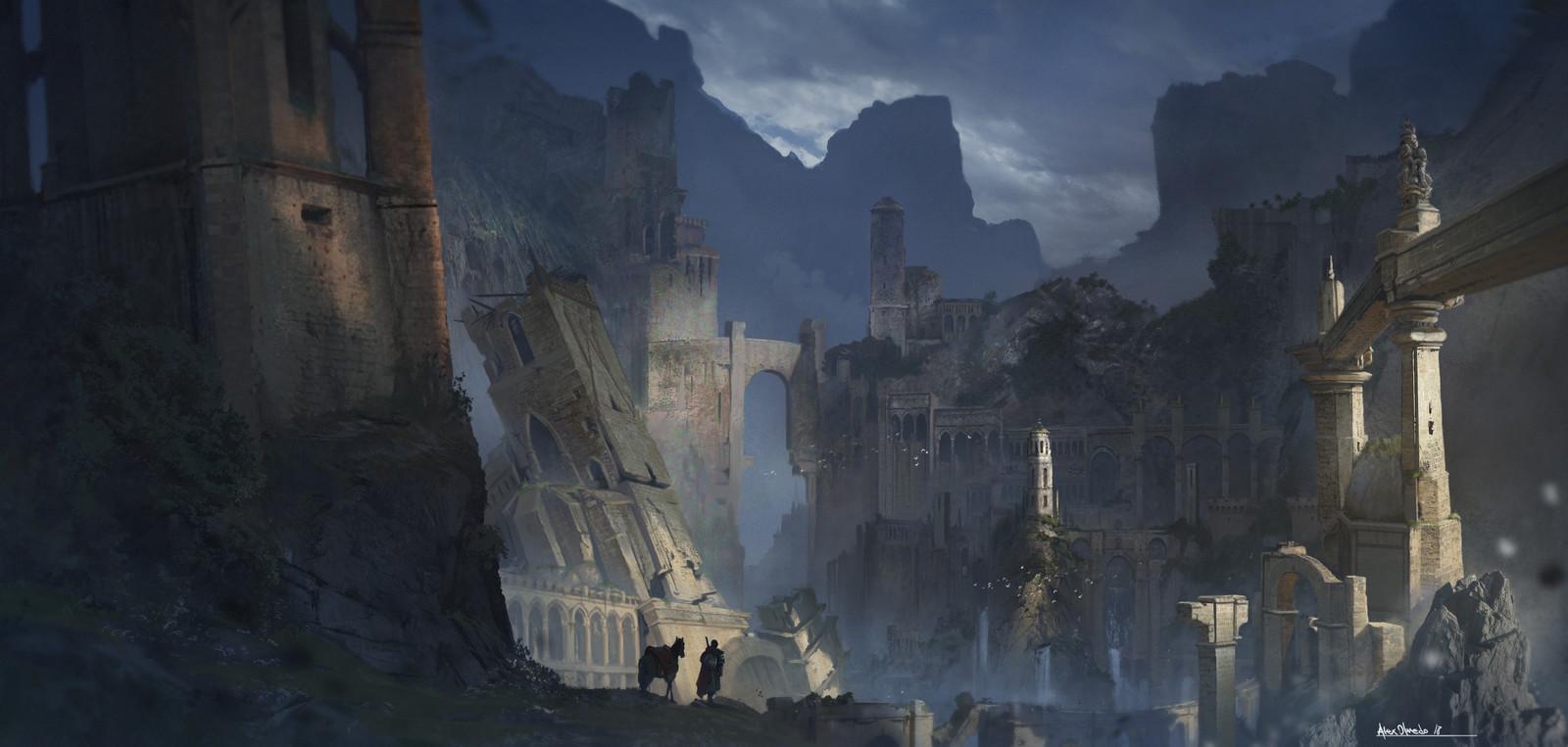 """""""Lost civilization""""   -  Personal Work"""