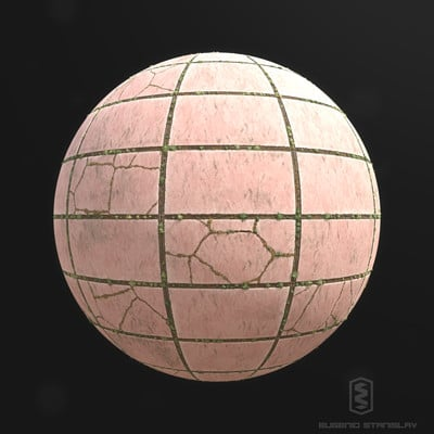 Eugenio stanislav pavement tile 02 render s