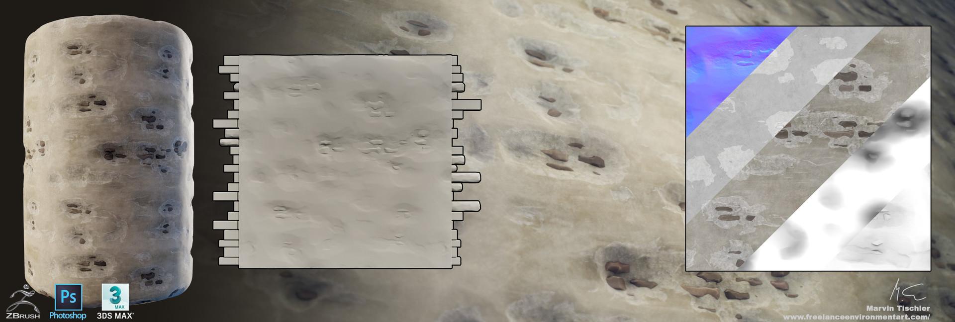 Marvin tischler handpainted textures 002 e