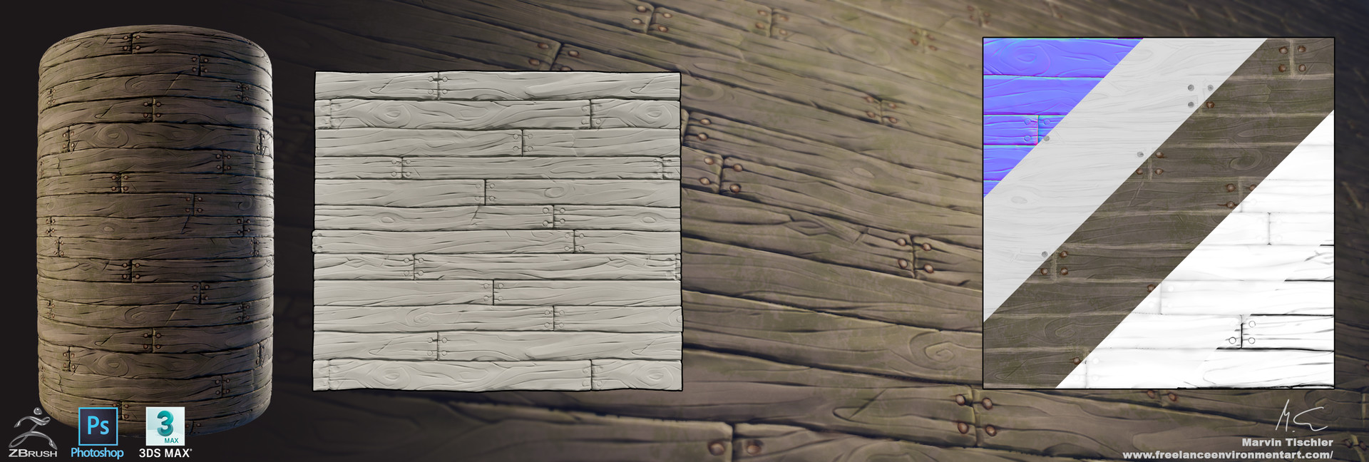 Marvin tischler handpainted textures 002 g