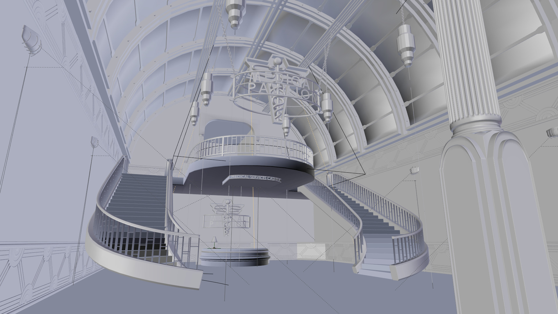 ArtStation - Medical Pavilion (Bioshock 1), Rowan Godwin