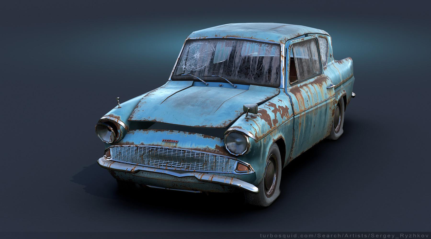 ArtStation - Ford Angl...