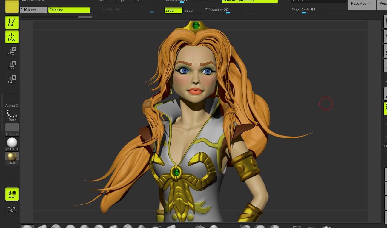ZBrush render - screenshot