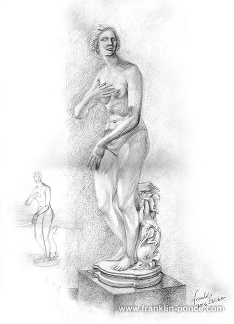 Venus de' Medici, Abguss-Sammlung antiker Plastik, Freie Universität Berlin, 2017