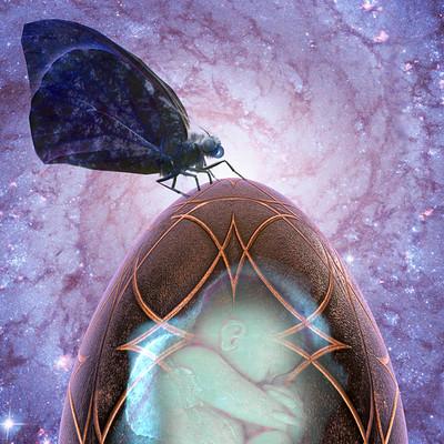 Vangelis choustoulakis cosmic egg 030