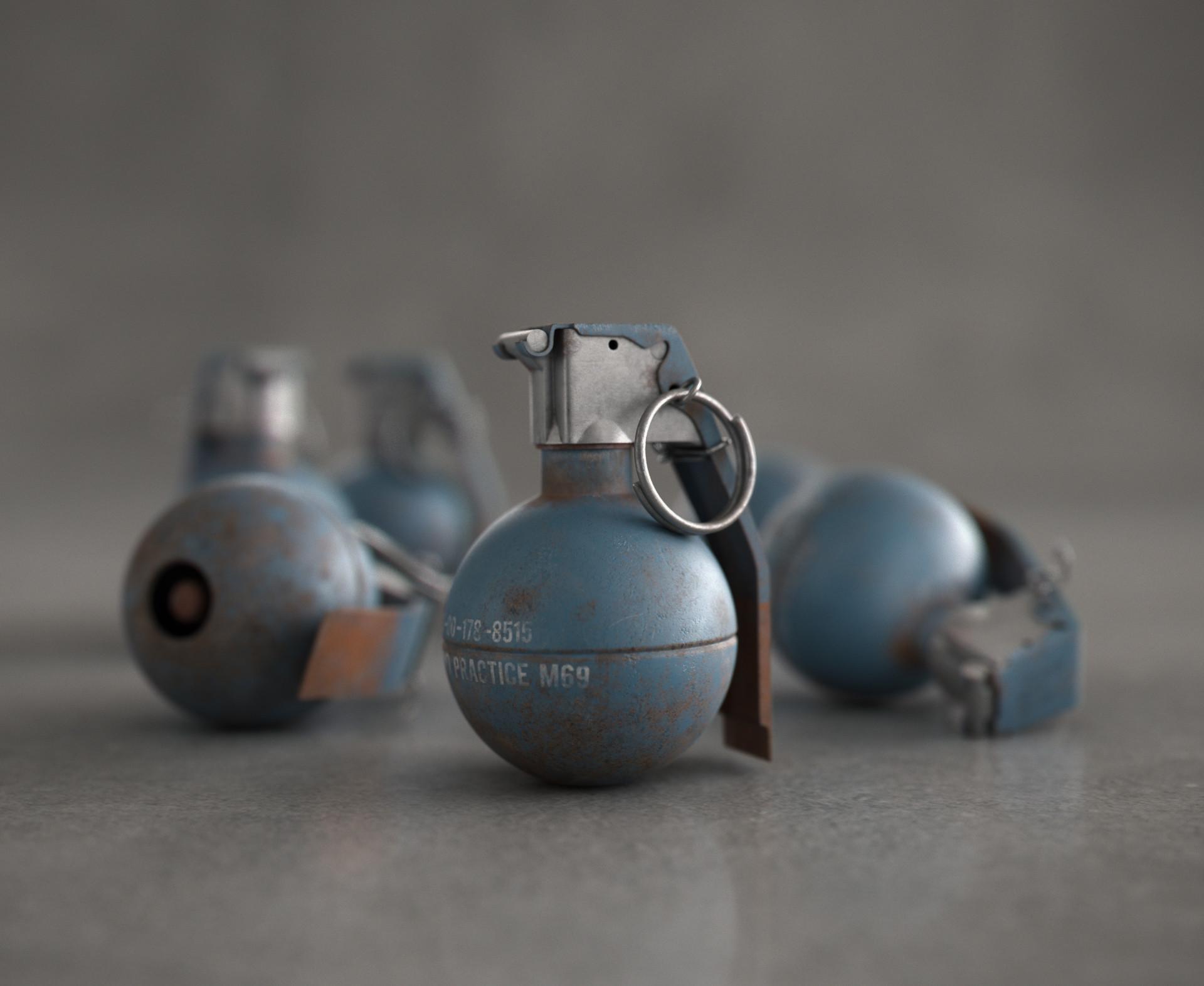 Felipe Ferreira - Grenade Hand Practice - M69   Studies #01