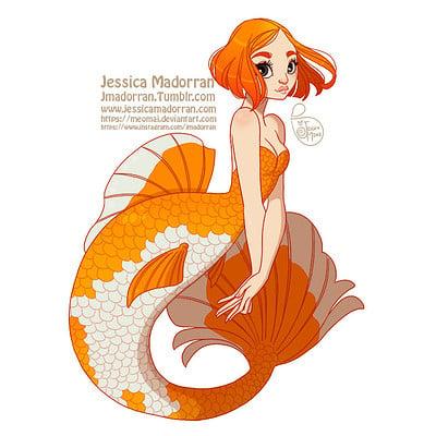 Jessica madorran character design mermay03 2018 artstation