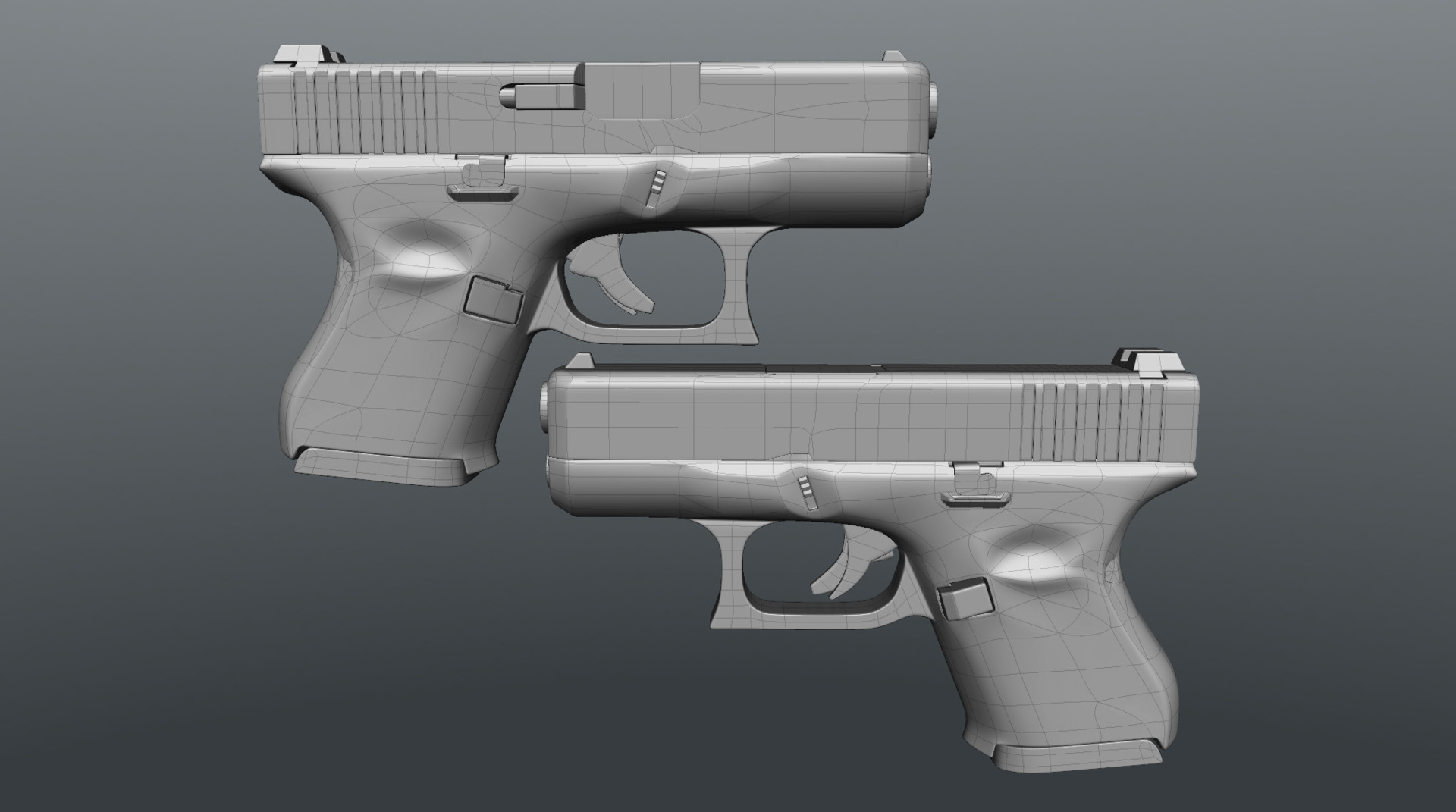 High Poly in Modo