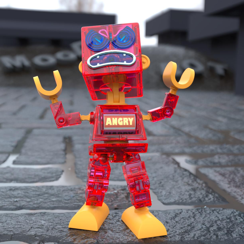 Anthony rosbottom mood bot angry 40