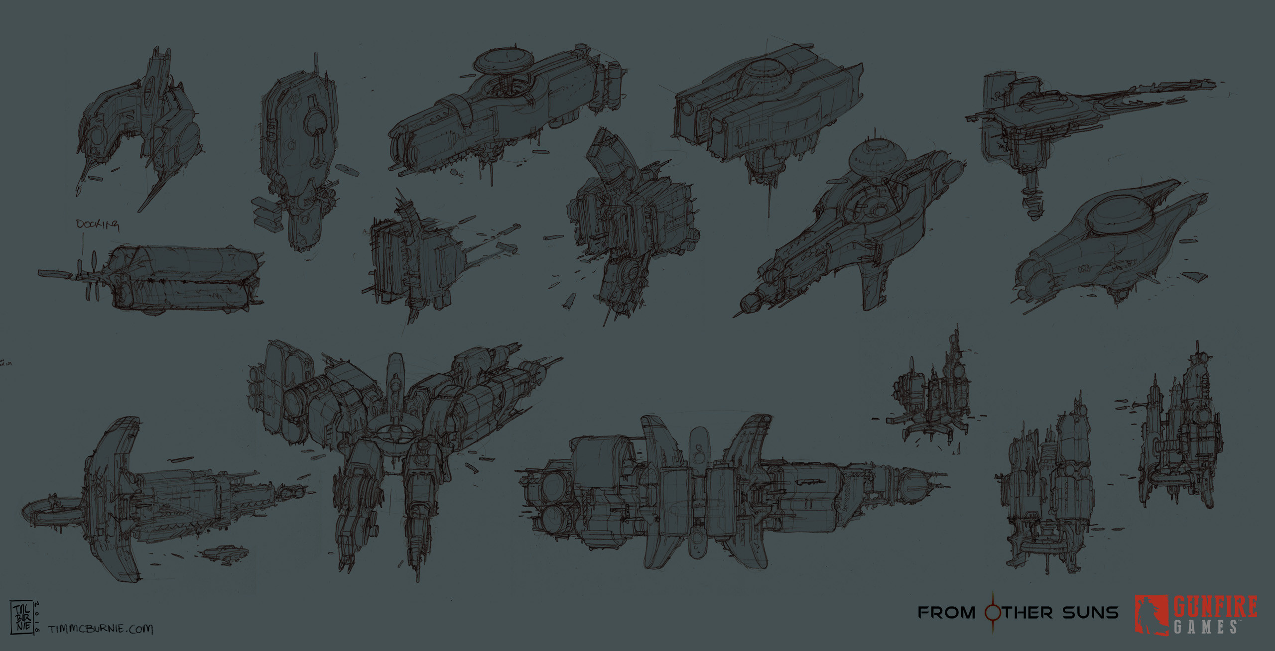 Space Station sketches