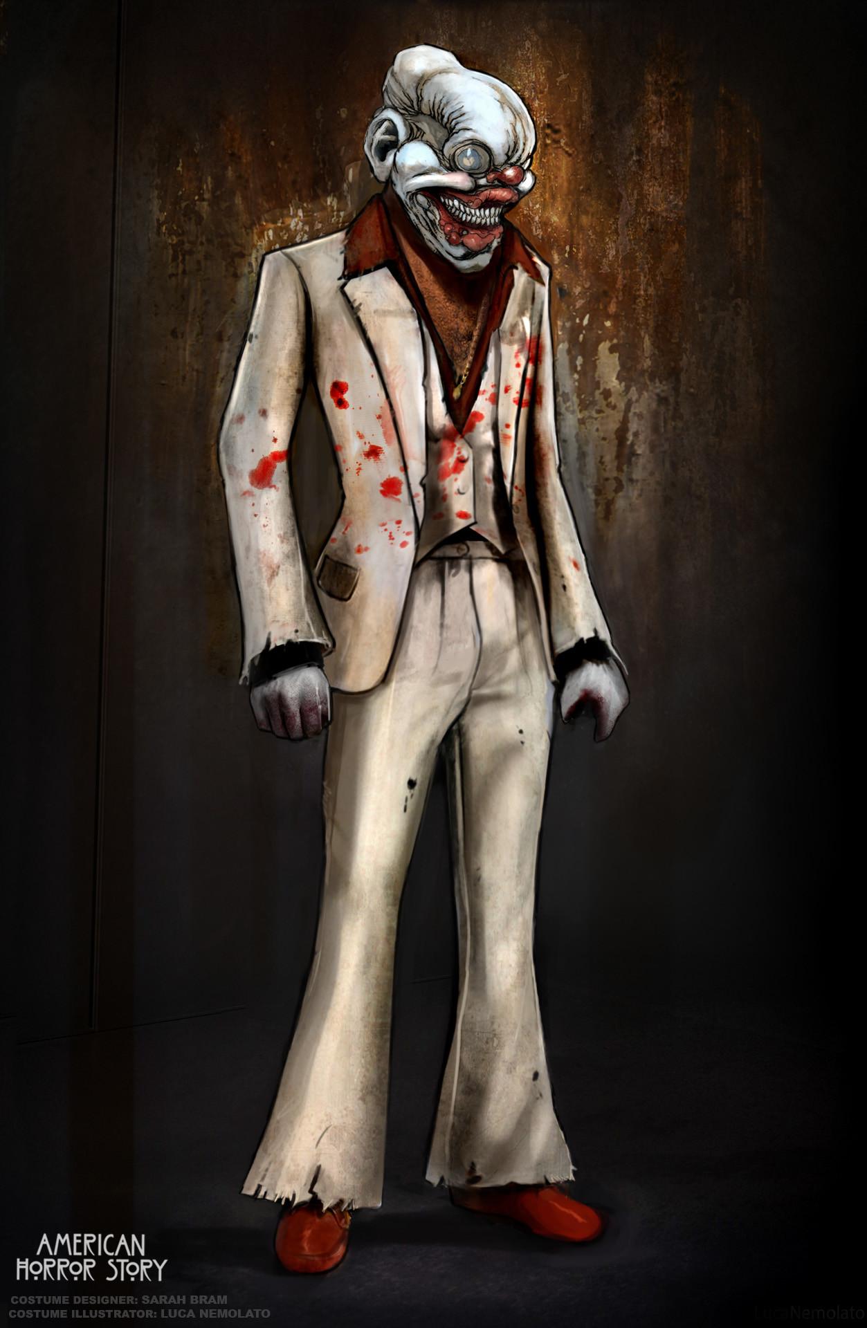 Artstation American Horror Story 7 Concept Art Luca Nemolato