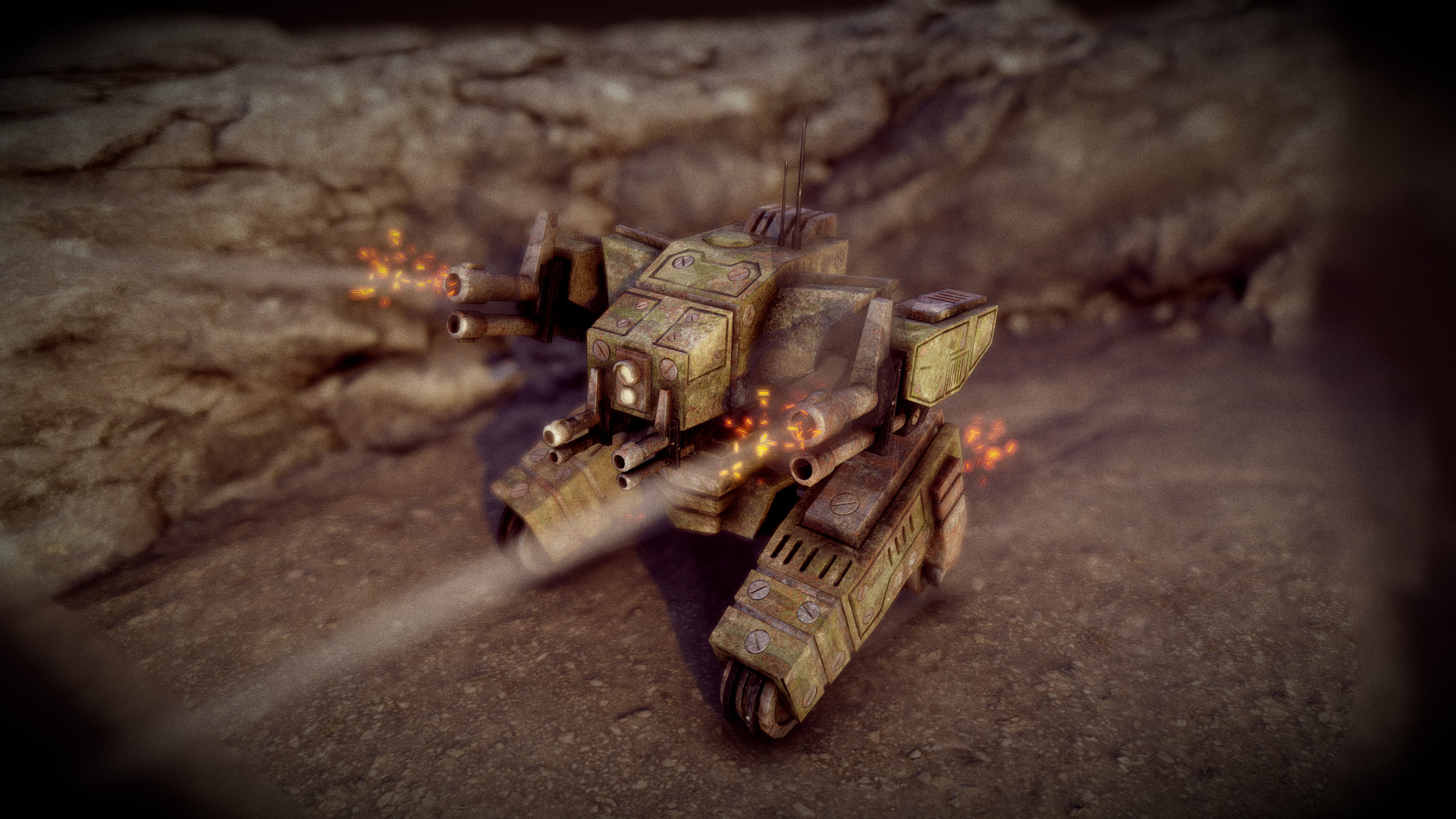 Ivan batalla sci fi war tank