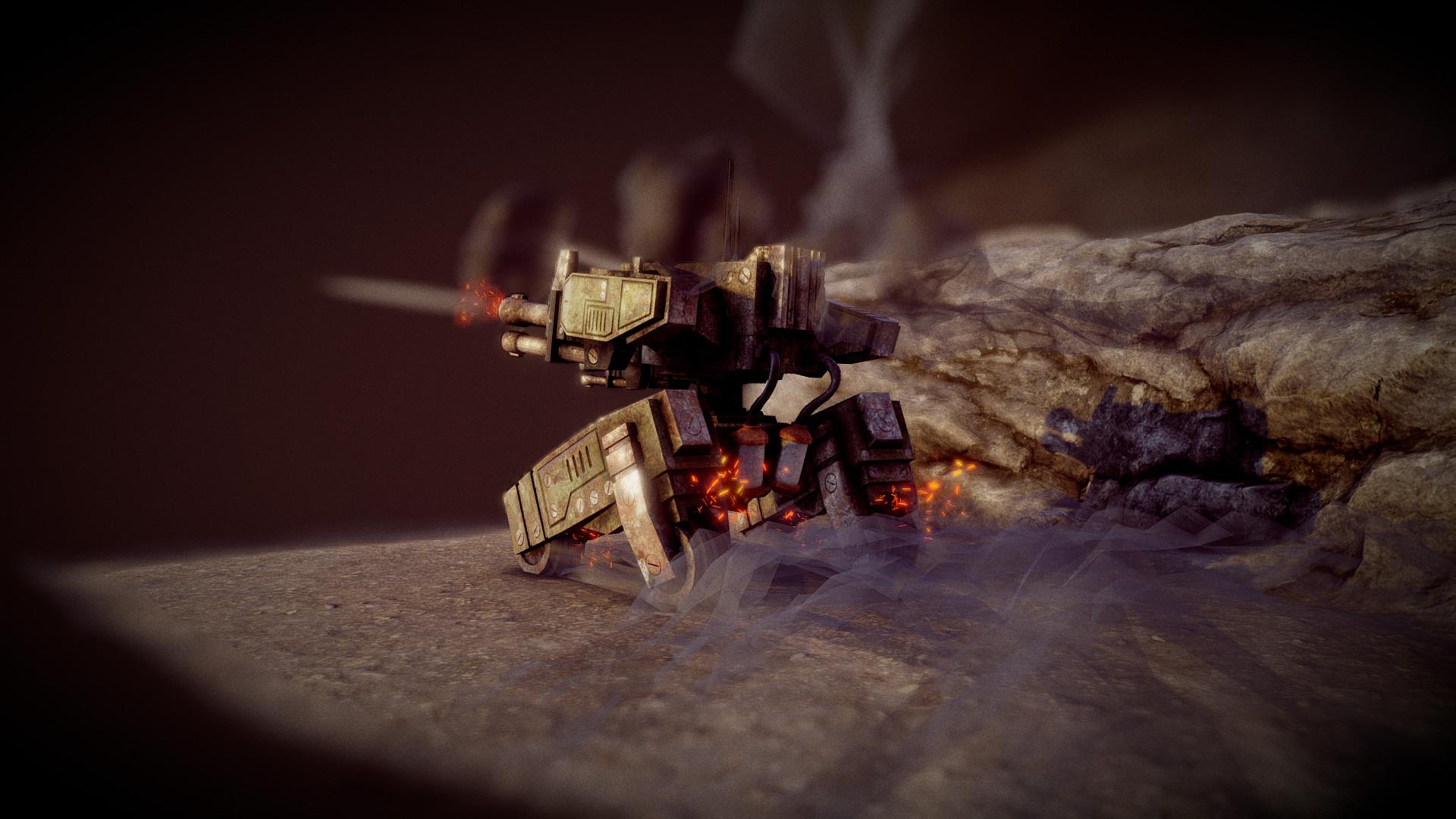 Ivan batalla sci fi war tank 2