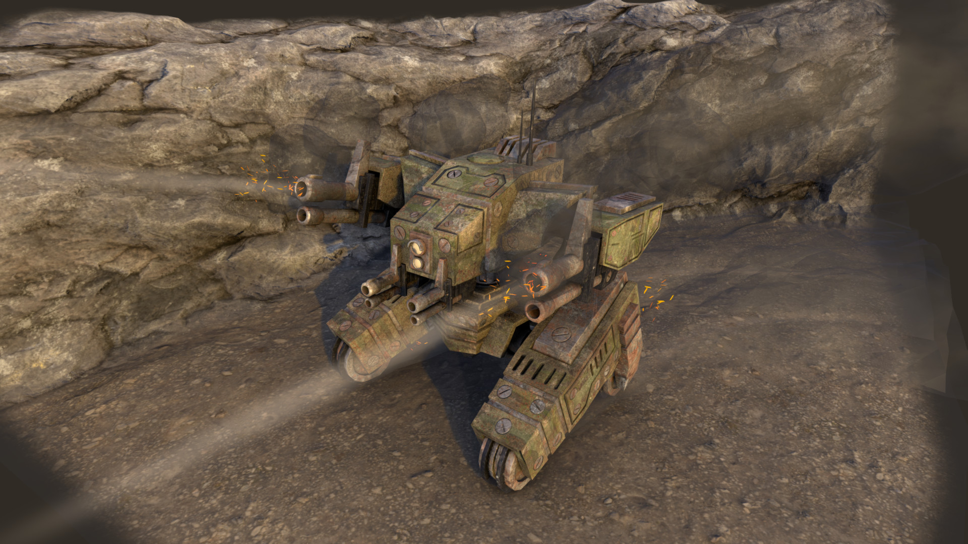 Ivan batalla sci fi war tank 3