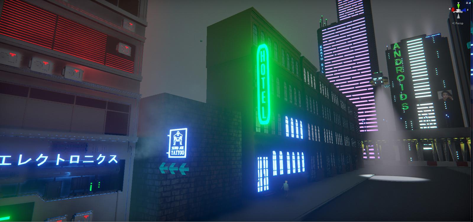 Hotel neon updated