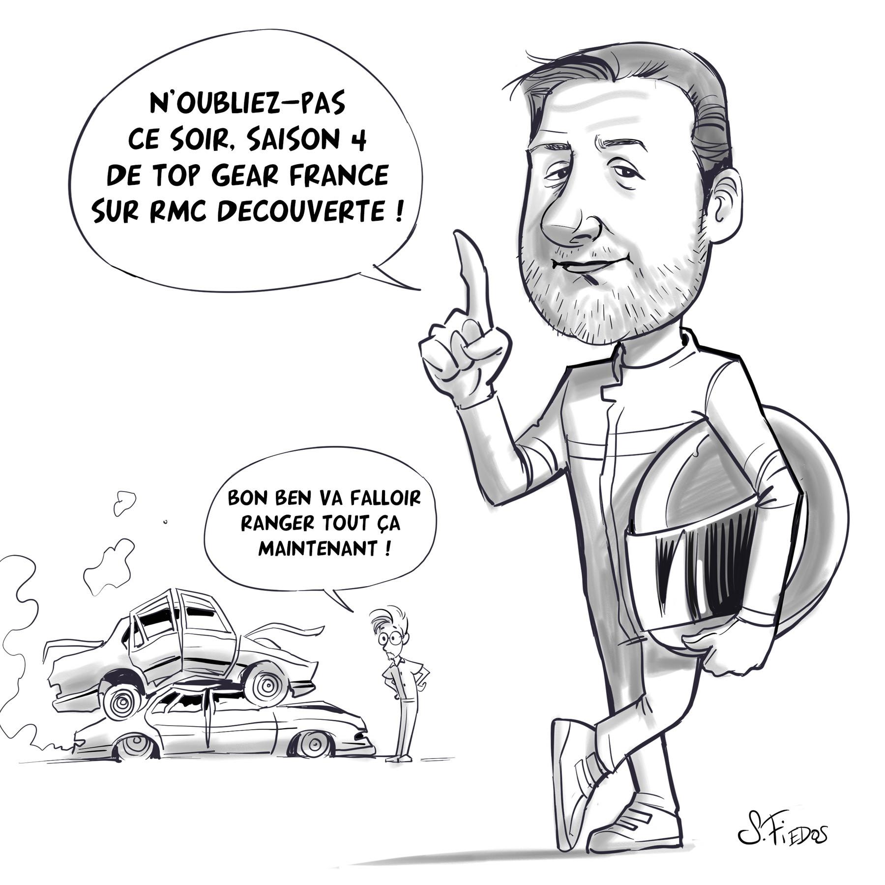 Serge fiedos top gear france season 4 fan art sketch2 by serge fiedos