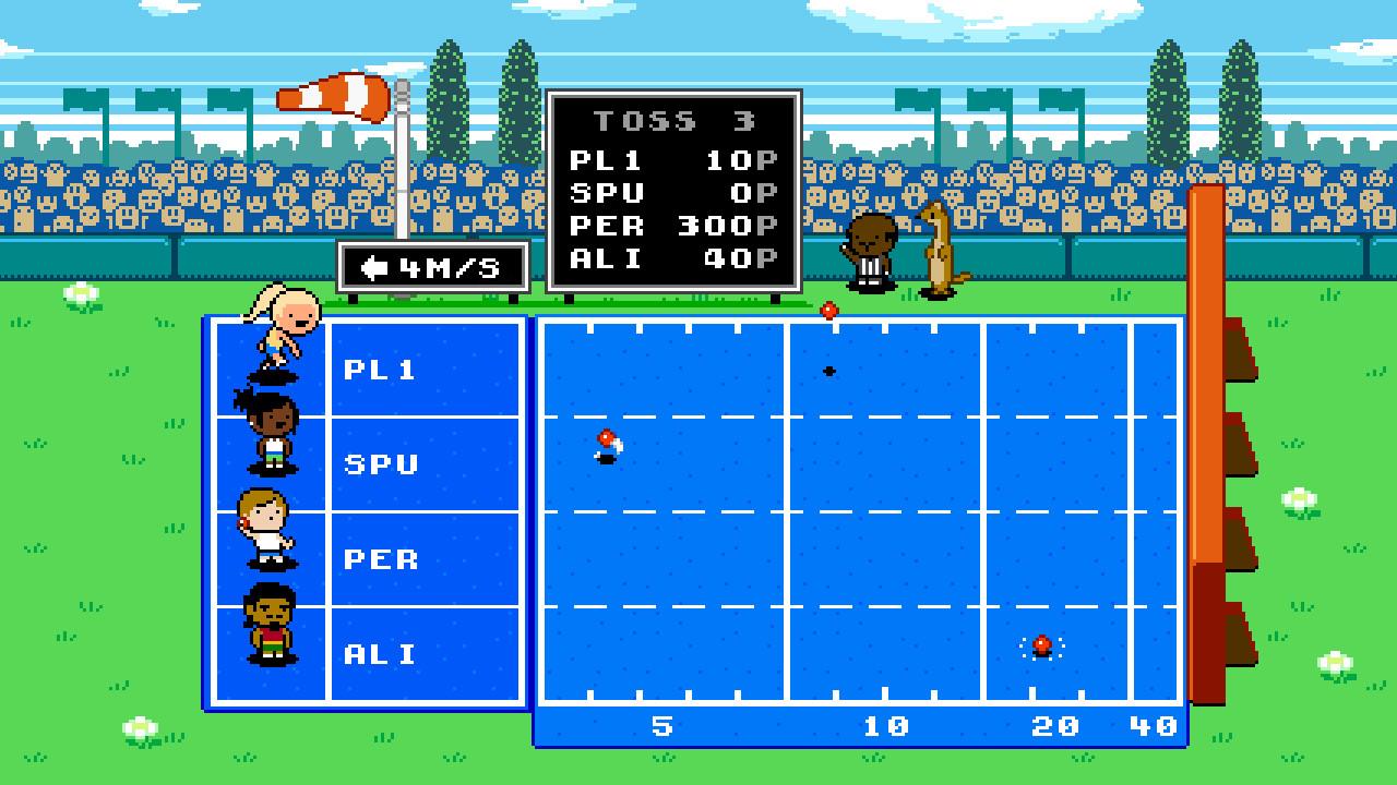 Jim svanberg sportmatchen boll toss
