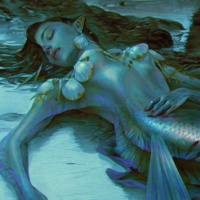 Valentina remenar a pearl mermaid hunt by valentina remenar