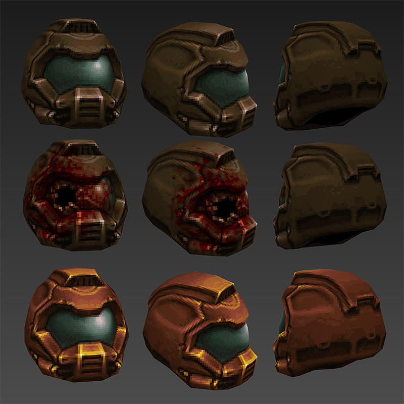 Final Helmet plus a not so luck marine and Gold version for the secret hunters!
