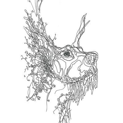 Gabriele crow doberman by yade art d69blot