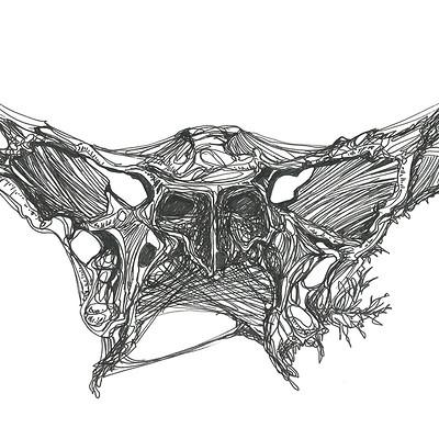 Gabriele crow bone 2 6 by yade art d68rbpk